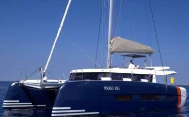 Dufour 48 Catamaran LER - BLUE HULL, AC+GEN., UNDERWATER LIGHTS