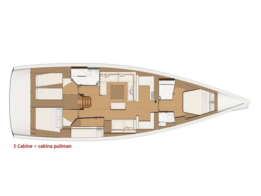 Dufour 520 Grand Large, Euribia