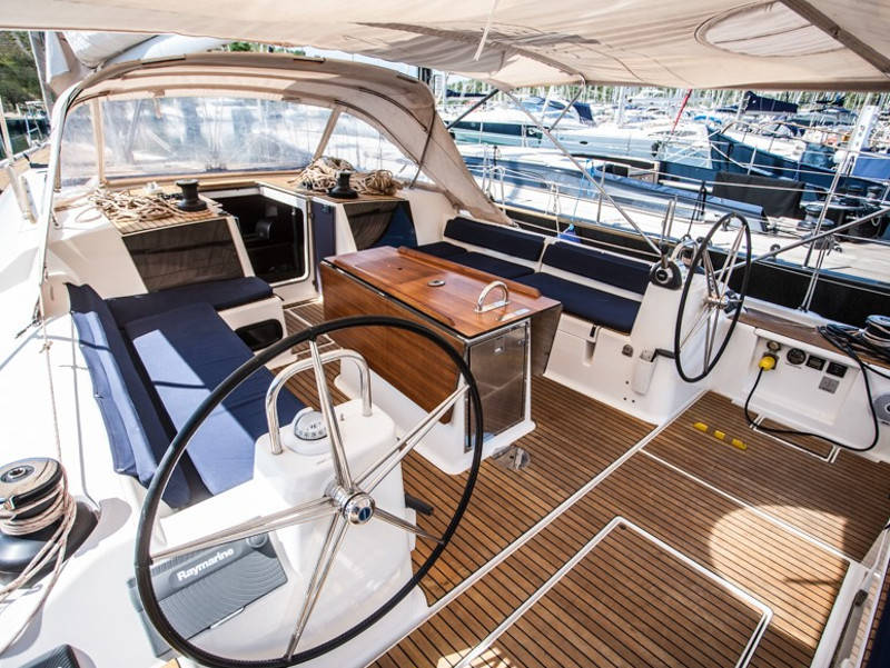 Dufour 56 Exclusive, TEFNUT - fully equipped