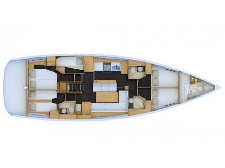 Jeanneau 54, Sea Force