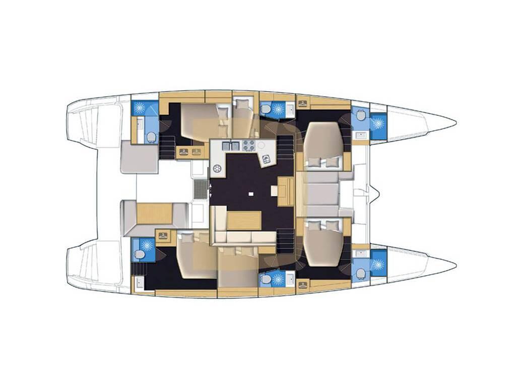 Lagoon 52, L52 - H169